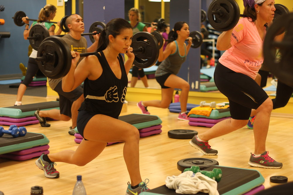 120 Weekly Group Fitness Classes -
