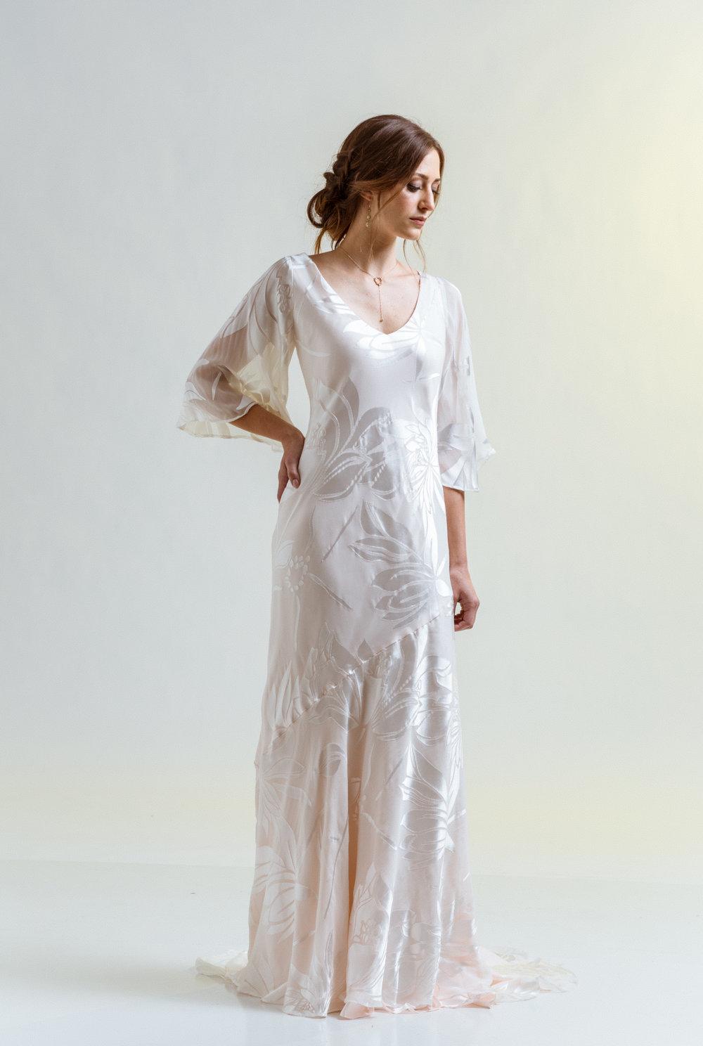 Magnolia Slip Gown — BLANC by Julia LeSueur