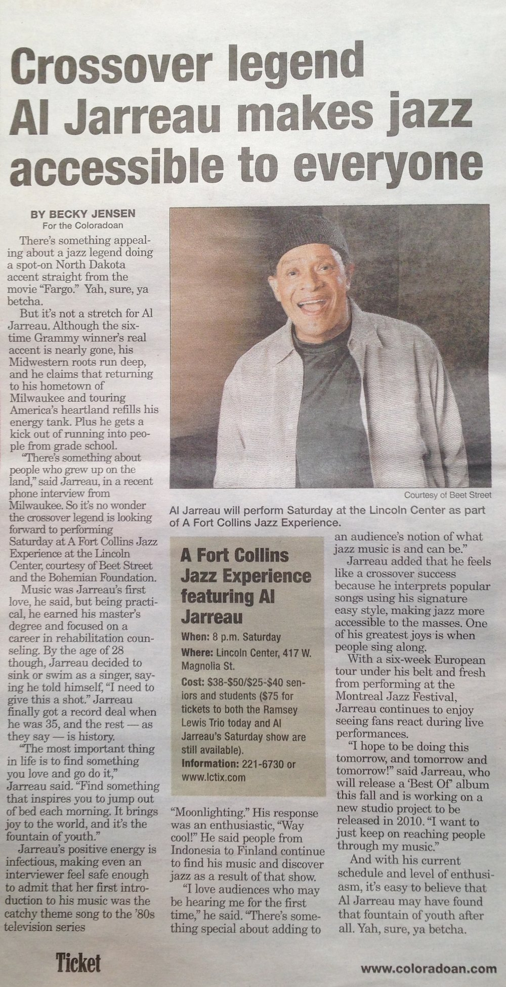 Crossover Hit Al Jarreau Makes Jazz Accessible to Everyone