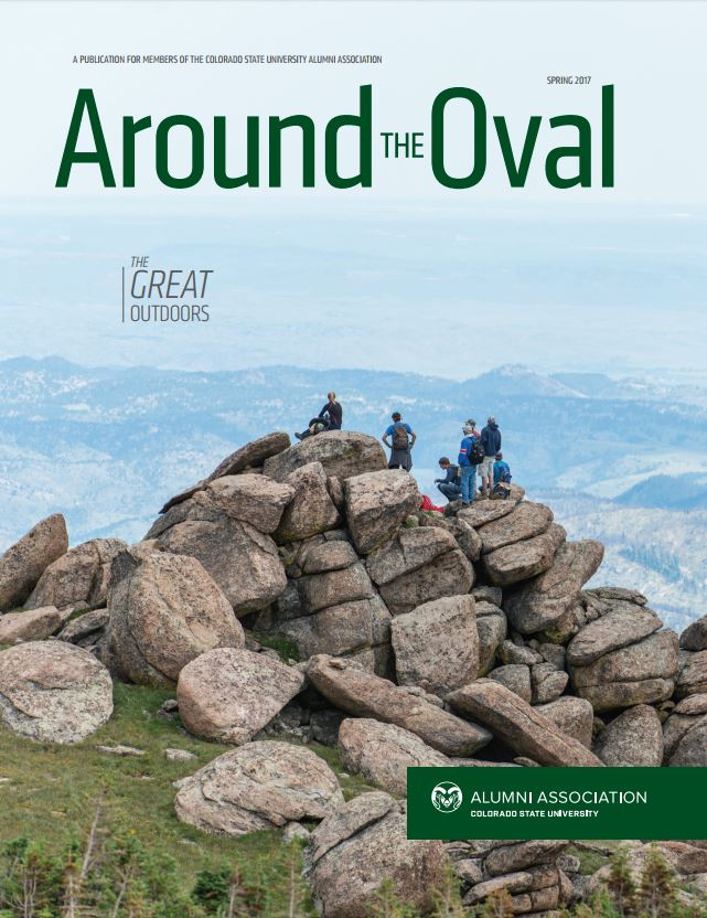 Around the Oval magazine, Spring 2017