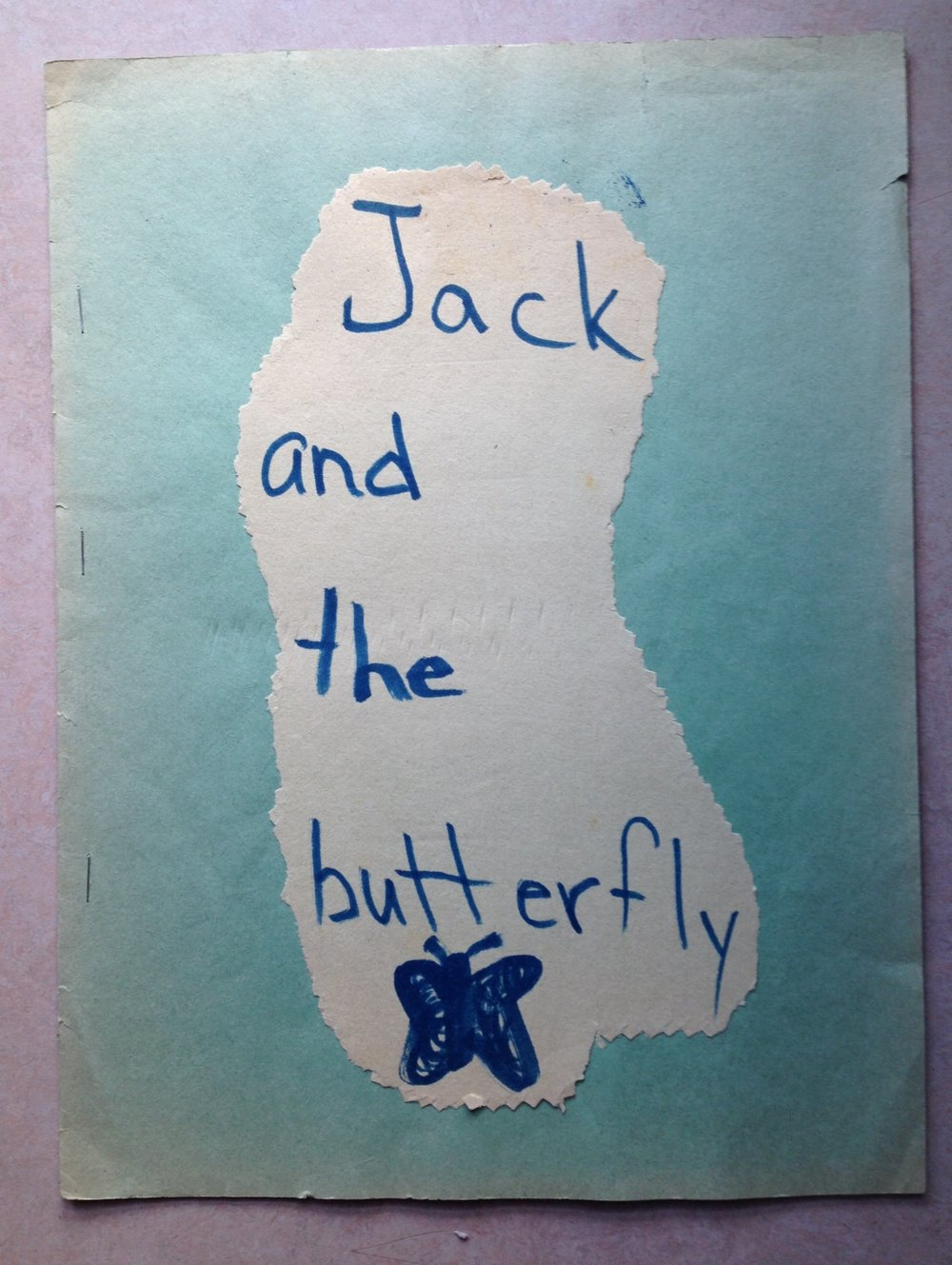 "Becky Jensen ""Jack and the butterfly"" story age 7.JPG"