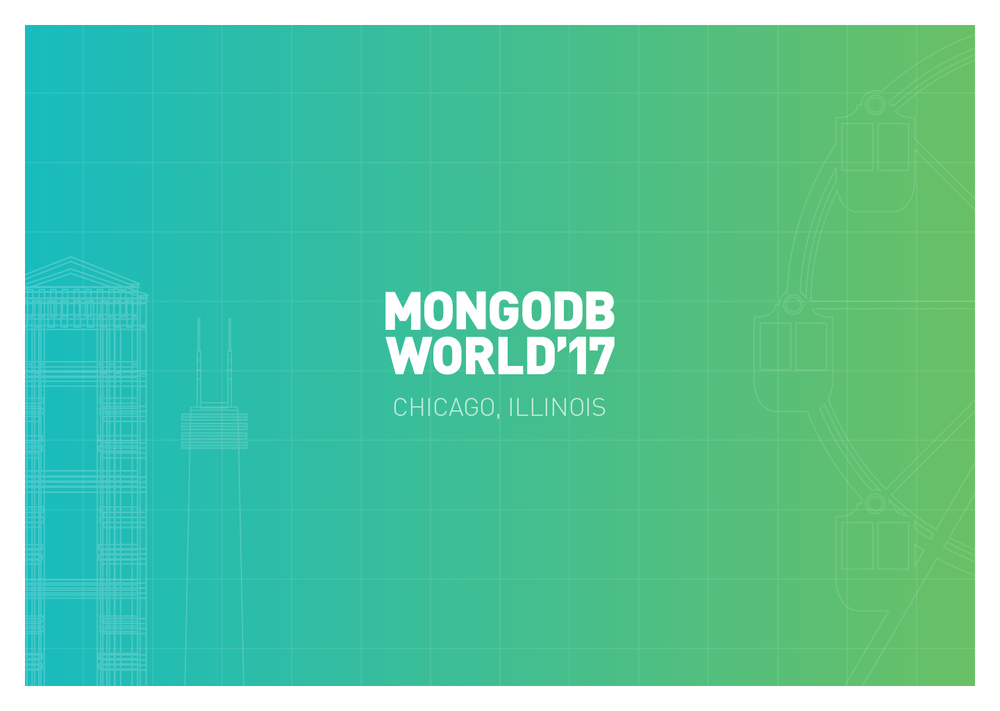 MongoDB World Visual Design System - In order to get our team and other teams on the same page about the conference's design elements– how they work together, and how they can be applied–I put together this brand guide to tell the story of the conference and the thought behind the design system.