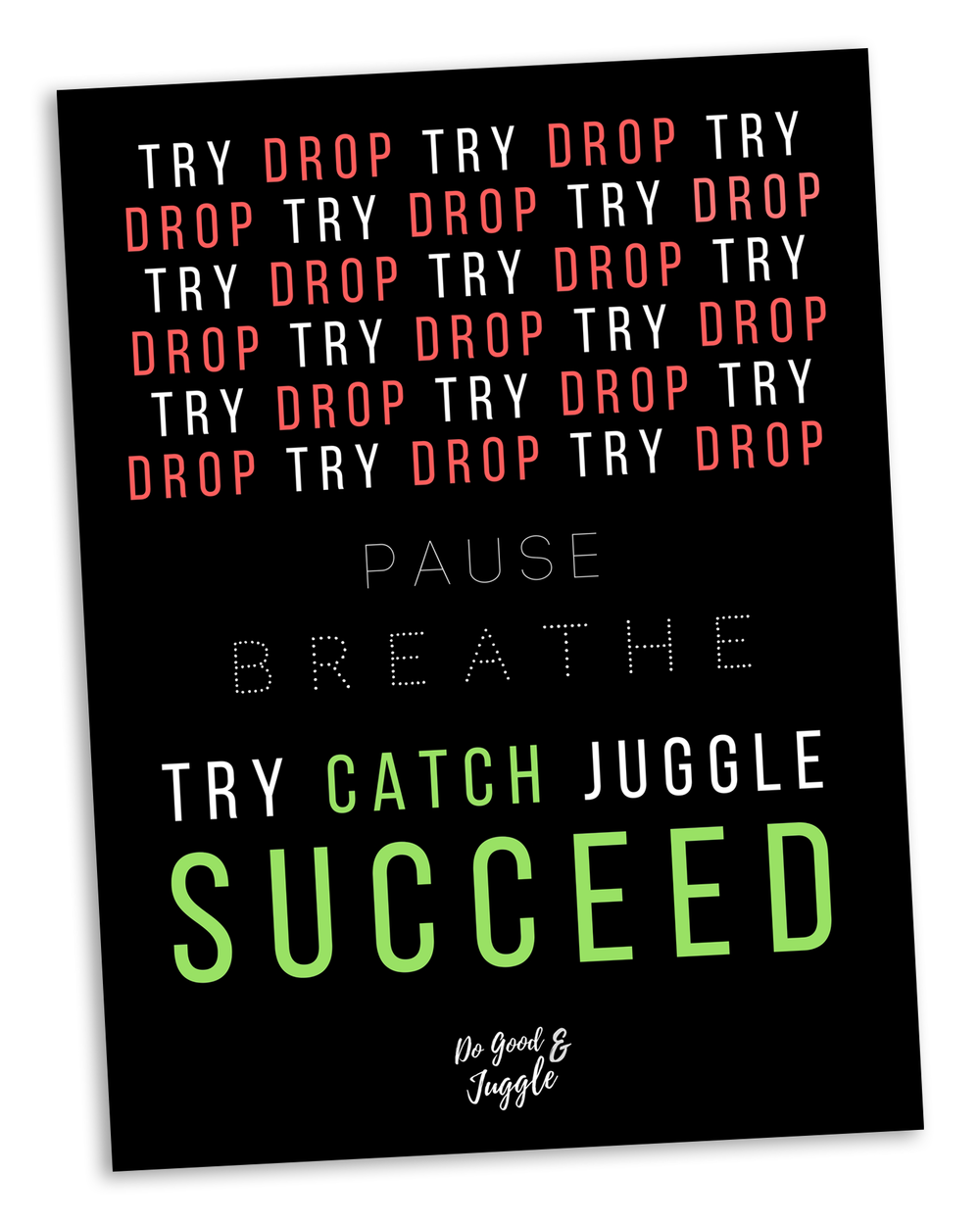 Motivational Poster POP Image - Path to Success.png