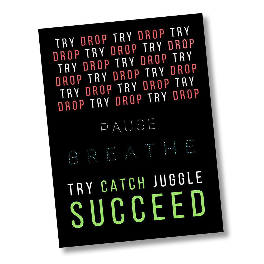 Do Good & Juggle - Path to Success (red blue green) angle square.jpg