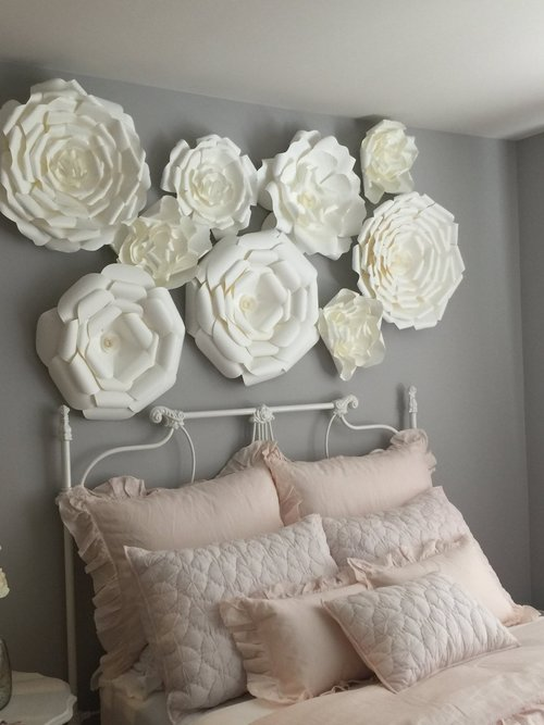 Large paper flowers image collections flower decoration ideas large paper flowers decor for kids large paper flowers mightylinksfo image collections mightylinksfo