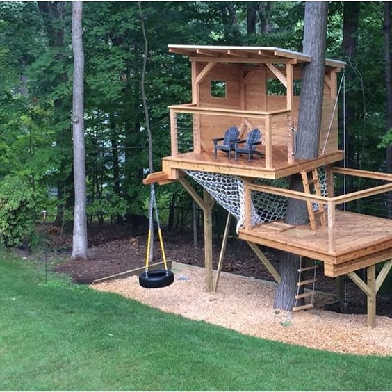 Credit to Living Edge Treehouses & Edible Landscapes