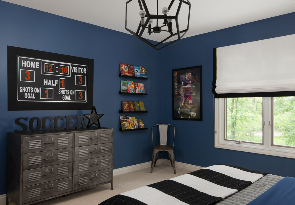 Captivating Decor For Kids, Dania Farhat, Soccer Boys Bedroom