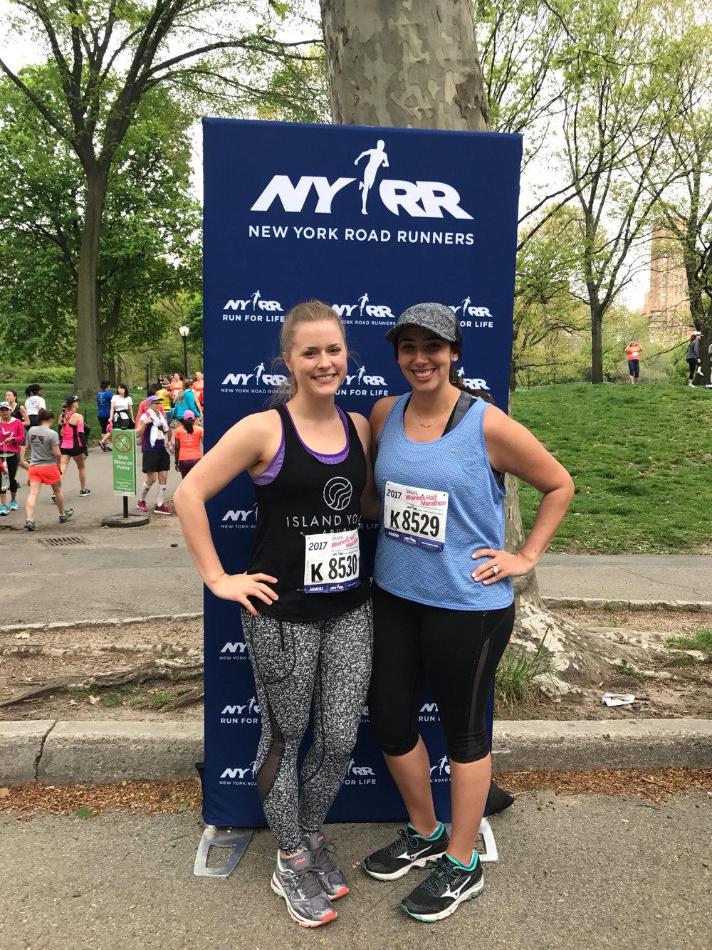 shape half marathon - prior to diving into our full marathon training, Lianna + I participated in the #womenruntheworld half by Shape Magazine
