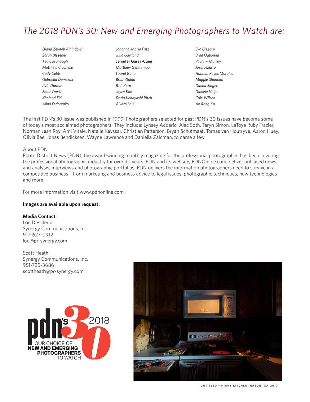 PDN 30 2018 Press Release-2.jpg