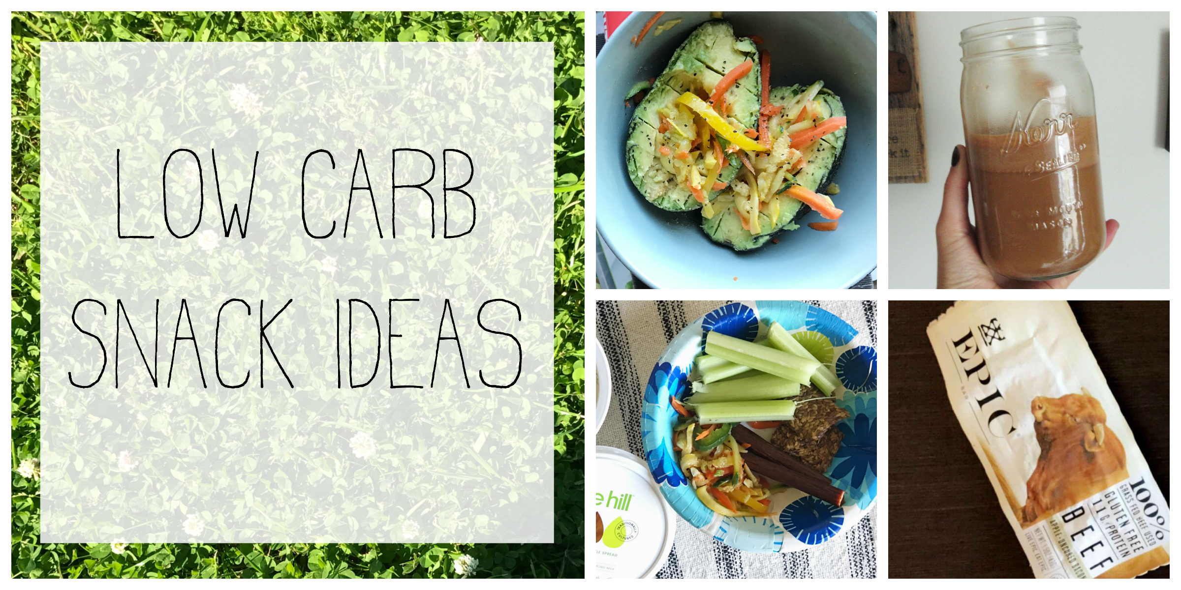favorite low carb snack ideas — just mands