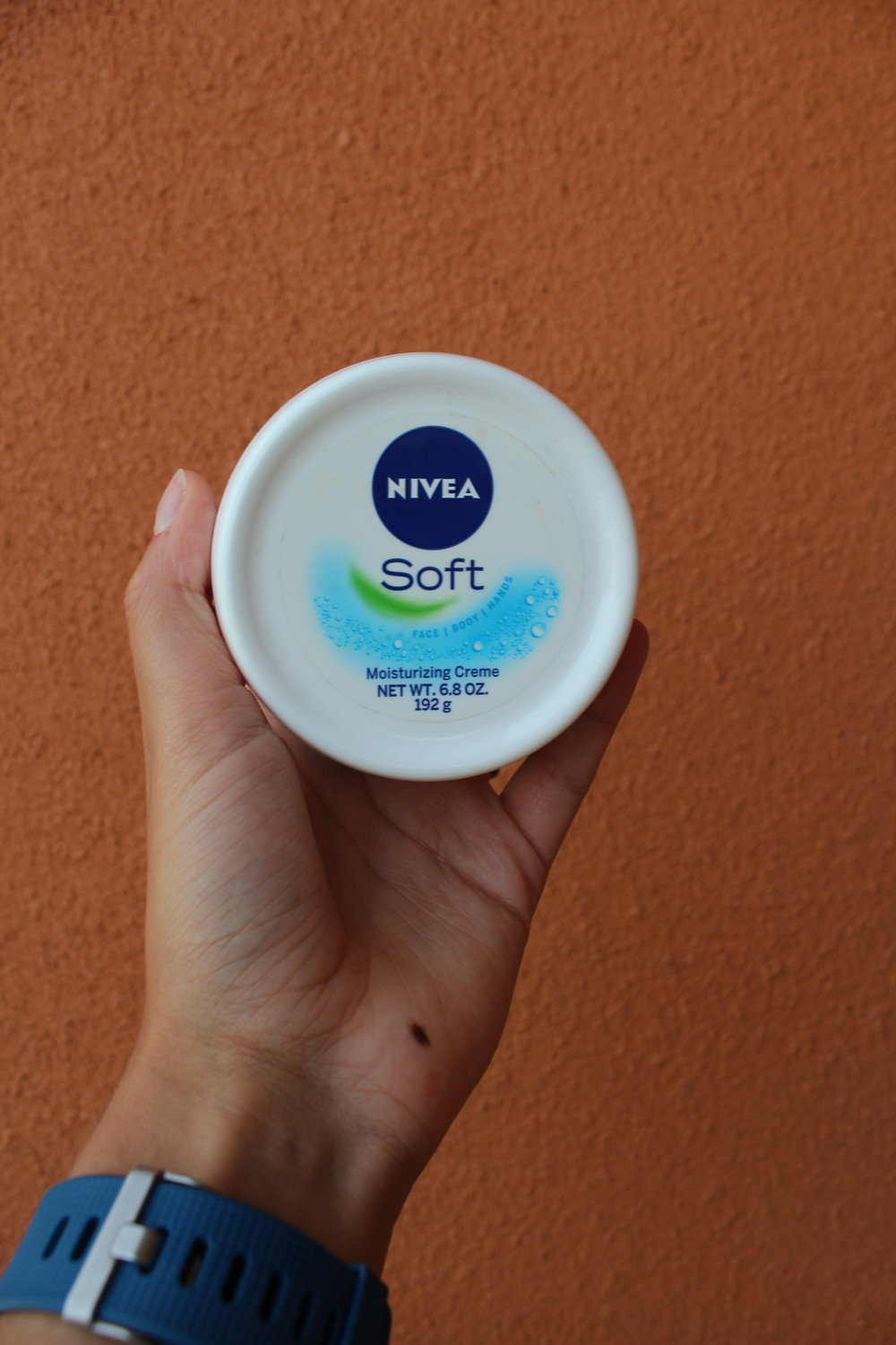I use the  Nivea Soft Moisturizer !