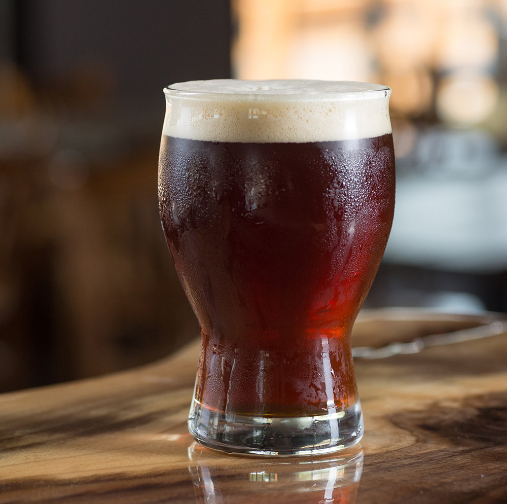 Big Head Red   A deliciously malty, sweet rye ale, balanced with floral and citrus notes from Centennial hops.