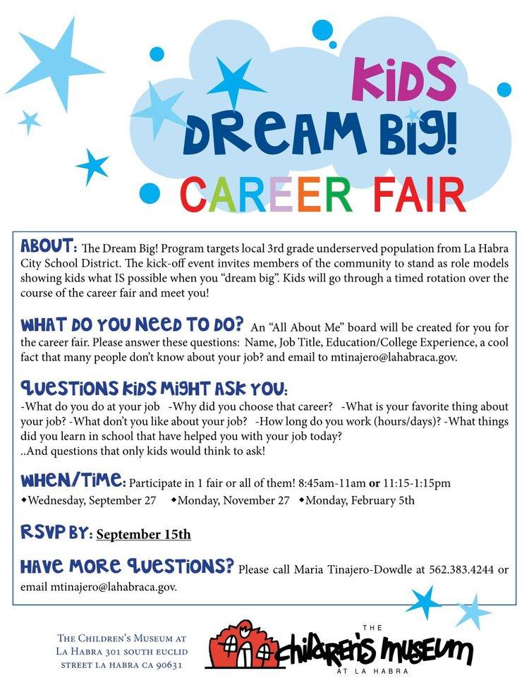dream big career fairjpg