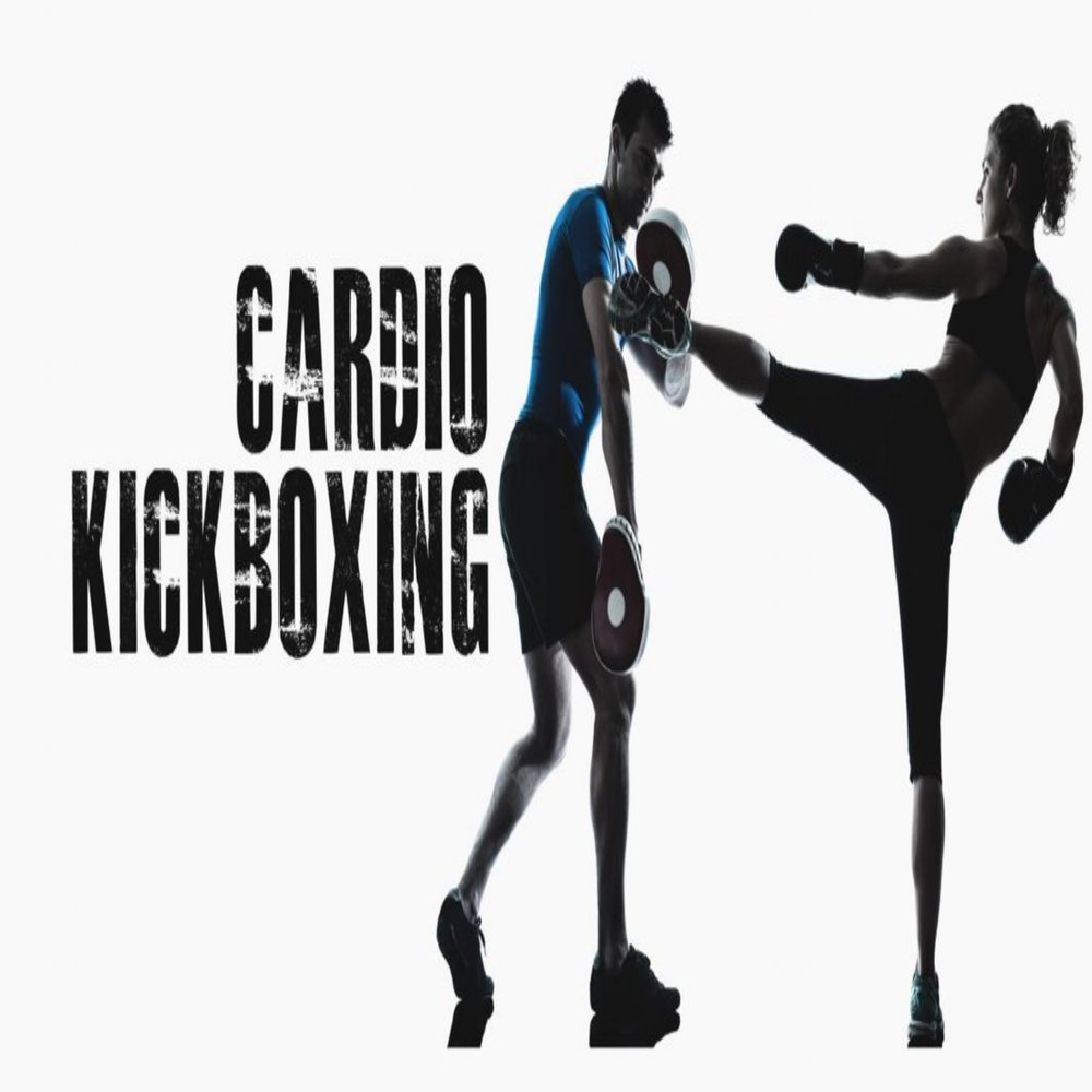 CARDIO KICKBOXING - - BURN MORE CALORIES IN 50 MINUTES THAN ANY OTHER WORKOUT- INCREASE YOUR HEART RATE AND START BURNING FAT WITHIN MINUTES OF STARTING CLASS- INTENSE PUNCHING AND KICKING THE BAGS WILL HELP BUILD UPPER AND LOWER BODY MUSCLES- TONE UP YOUR ENTIRE BODY WHILE IMPROVING POWER, SPEED, AND AGILITY