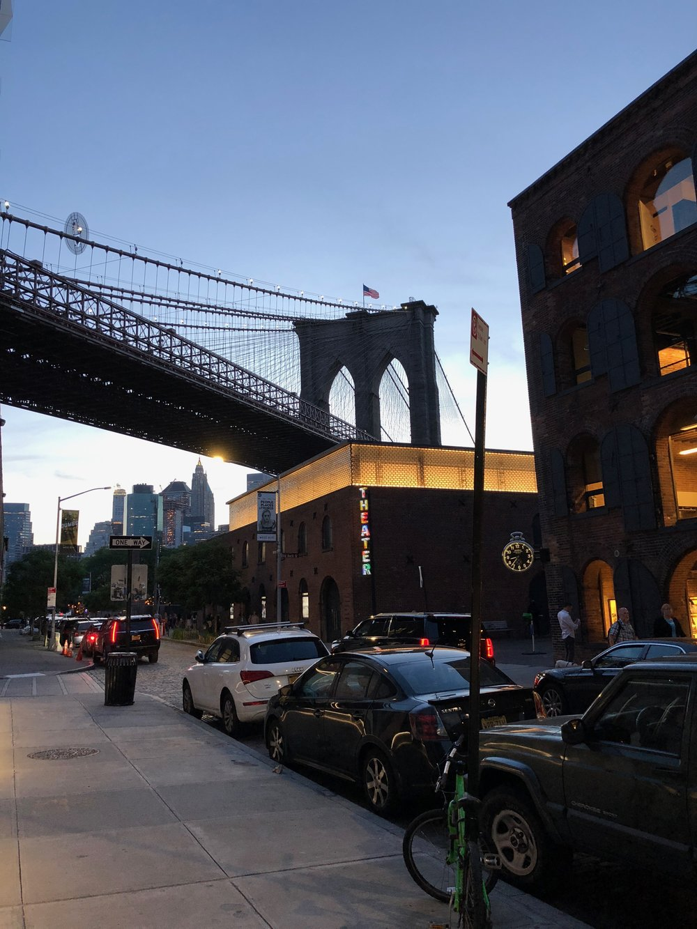Shot in DUMBO (Down Under the Manhattan Bridge Overpass)