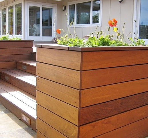 IPE DECK PLANTER