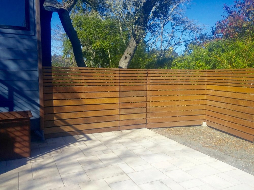 PATIO FENCE