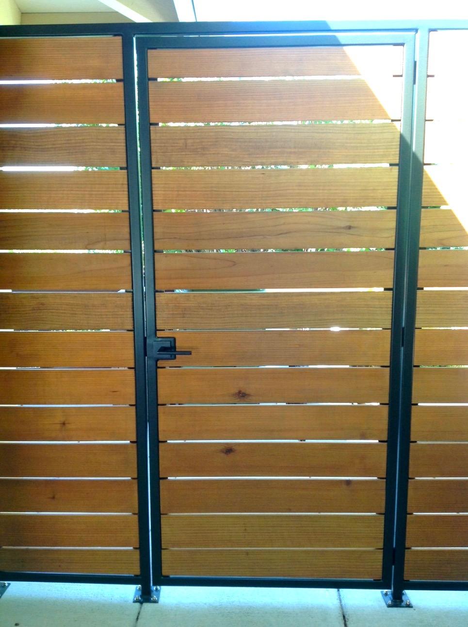 CORTE MADERA STEEL: IPE GATE