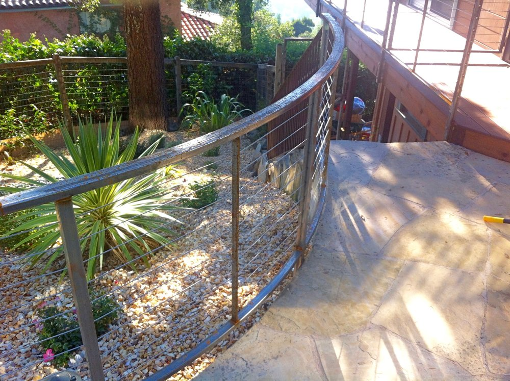 METAL CABLE RAILING