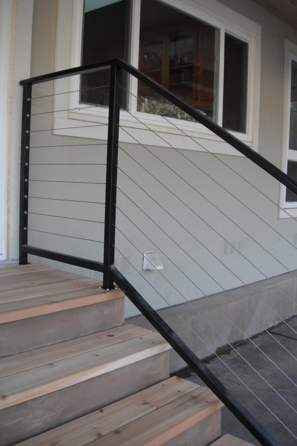 STEEL CABLE RAILING STAIRS