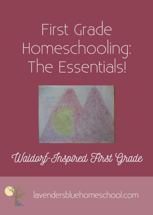 First Grade Homeschooling_ The Essentials! Photo Template 1.png