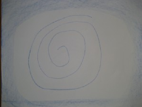 Form drawing spiral | Lavender's Blue Homeschool