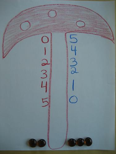 Arithmetic Toadstool | Lavender's Blue Homeschool