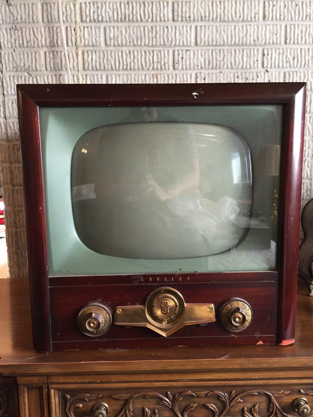 Antique Crosley TV