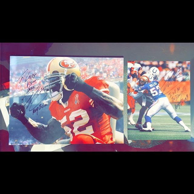 Special shoutout to the man Patrick Willis for taking time out of his day and giving us these. These autographed pictures will be raffled off at the event! Who's tryna get these👀