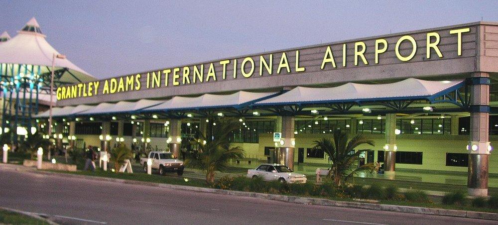 -Grantley Adams International Airport in Christ Church
