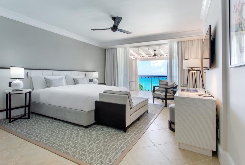 Ocean view of one bedroom suite