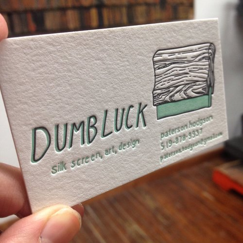 Business cards all sorts press dumbluck2g colourmoves Images
