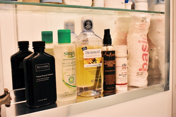 This is no beauty blogger's #shelfie but these products have been getting it done.