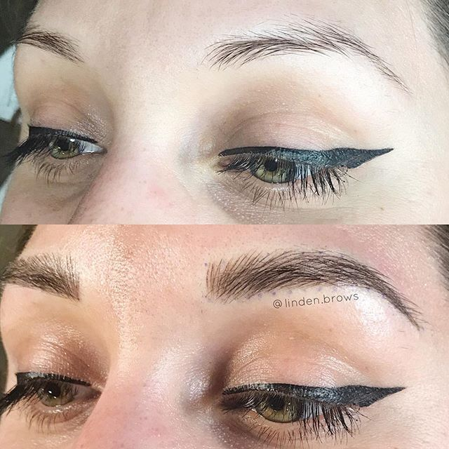 🔥🔥🔥 had a lovely time adding some fluff to this pretty face while at @wonderlandpdx!!! I am back in New York now! Visit WWW.DREWLINDEN.COM to book today!!! 😍 #lindenbrows