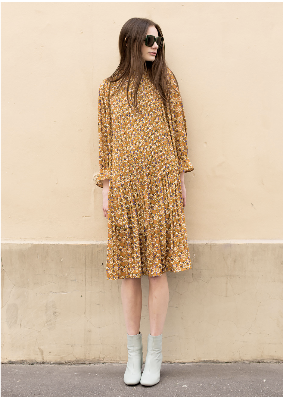 The fall transition dress