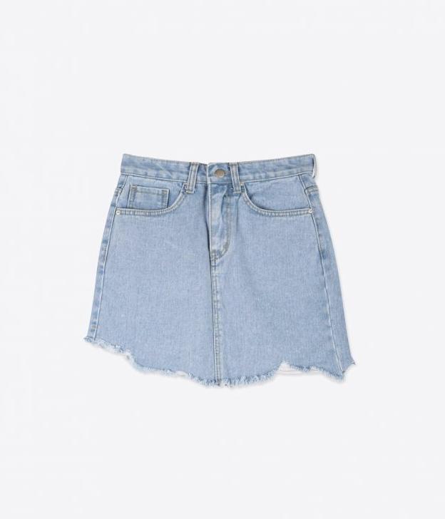 The unique but versatile denim skirt