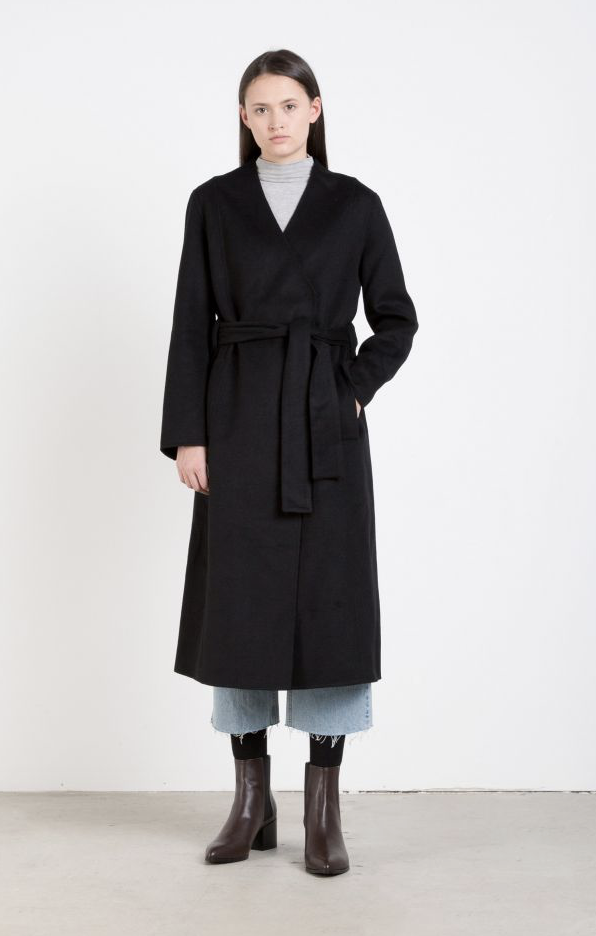 The long black trench