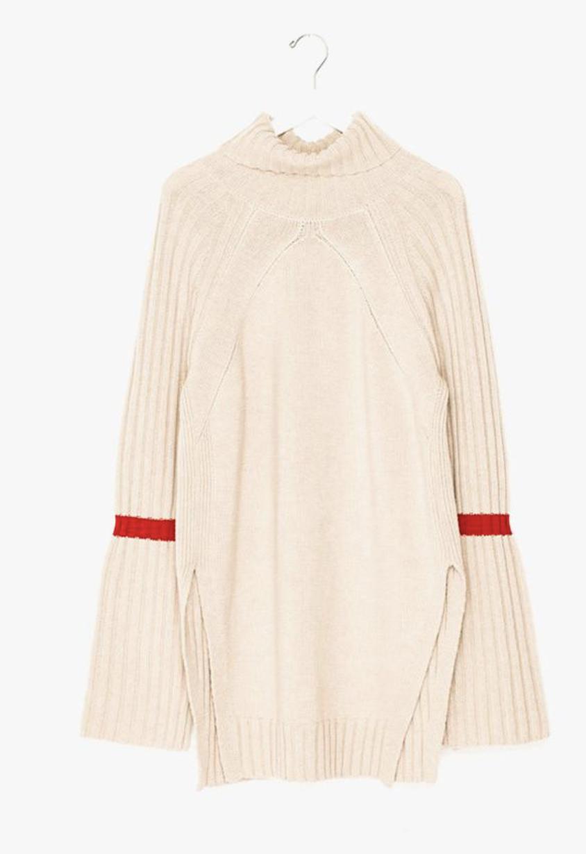 A more fun neutral sweater
