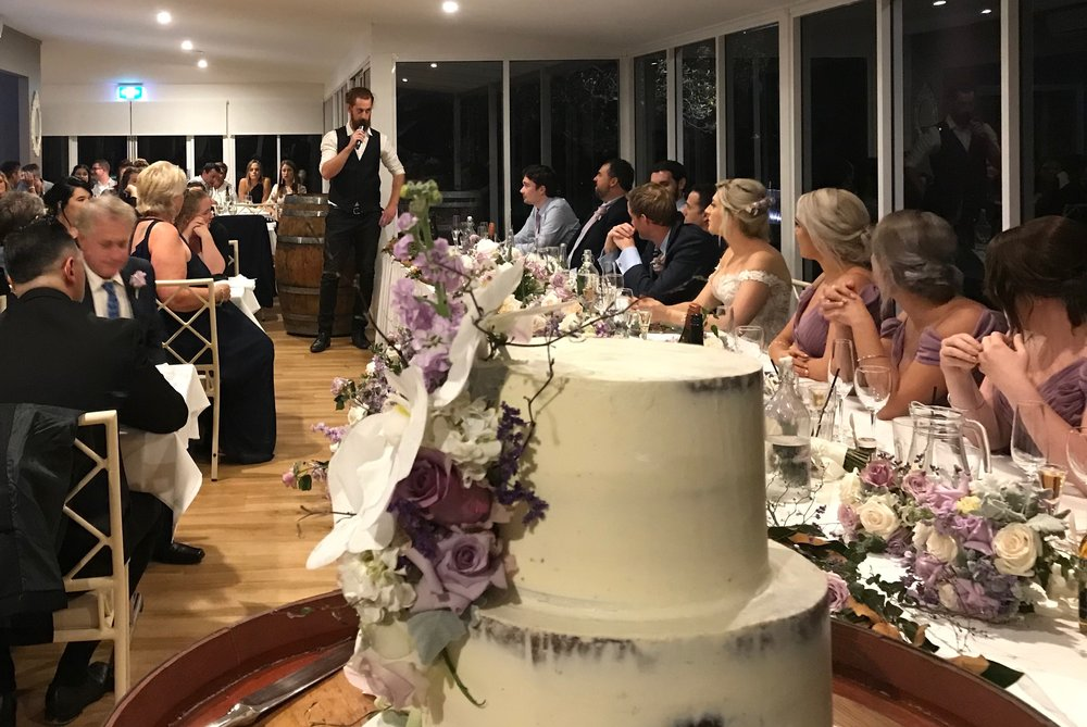 The amazing wedding of Sammy + Troy at Crooked River Wines, 2018