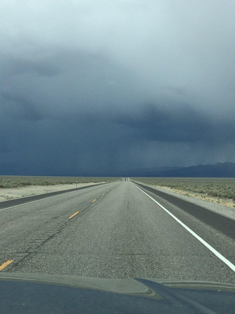 Photo taken during our drive to Phoenix, AZ