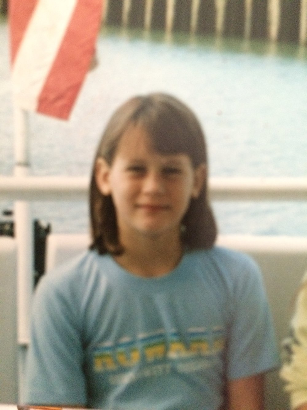 Me as a kid around 10 years old. I lived in t-shirts.