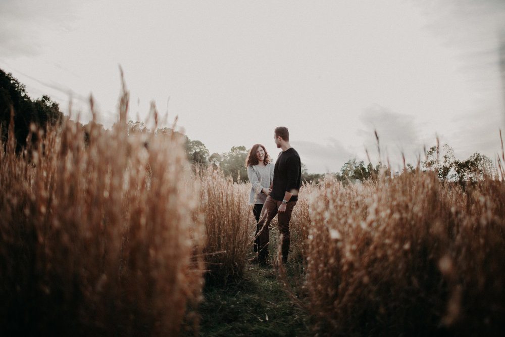 Outdoor Tennessee Engagement Shoot