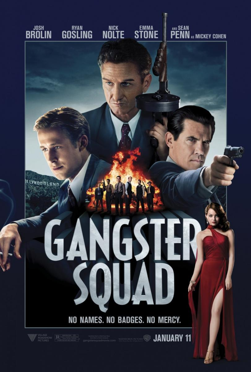 GANGSTER SQUAD - Music by Steve Jablonsky Music Editing by Jessica Weiss