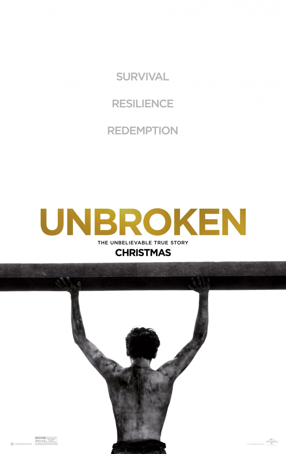 UNBROKEN - Music by Alexandre Desplat Assistant Music Editing by Jessica Weiss
