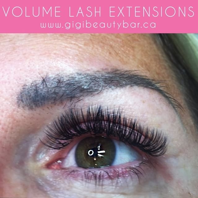 Loving these volume lash extensions! Volume lashes are much fluffier by applying 1-2 very thin and lightweight lashes on your natural lash. ☀️ You can BOOK your appointments ONLINE! ✨ Check it out at, http://gigis-beauty-bar.genbook.com Questions? Feel free to contact via call/text 📞705-341-9089  Visit www.gigibeautybar.ca for details and view our list of beauty services✨ 📍Located @ 232 Main St Bobcaygeon, ON  #eyelashes #extensions #eyelashextension #bobcaygeon #kawarthalakes #canadalashes #ontario #lashes #salon #beauty #beautybar #lashme #certified #lashlift #eyelashperm #lashperm #beautybar #kawarthapeeps #eyelashartist #lashartist #lashtech #website #graphicdesign #logo #wax #tint  #waxing #lashextensions #volumelashes #lashesdone #lashesdoneright
