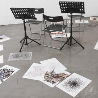 Marco Fusinato,  Parallel Collisions , 2008.