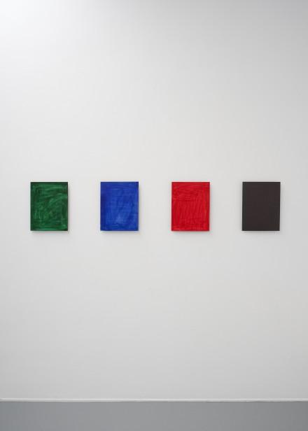 Jean-Luc Moulène,  Echantillon / Monochrome, New York, March,  2010