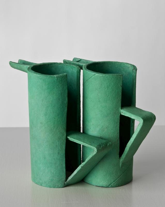 Ricky Swallow , Twin Pots/Malaechite (After P.S) , 2011