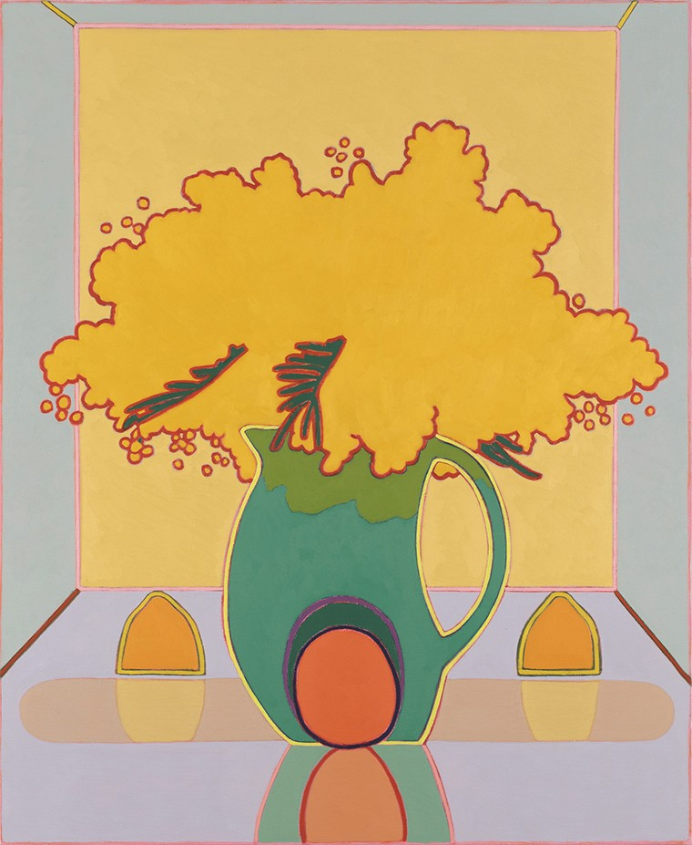Holly Coulis,  Mimosas and Citrus,  2016.