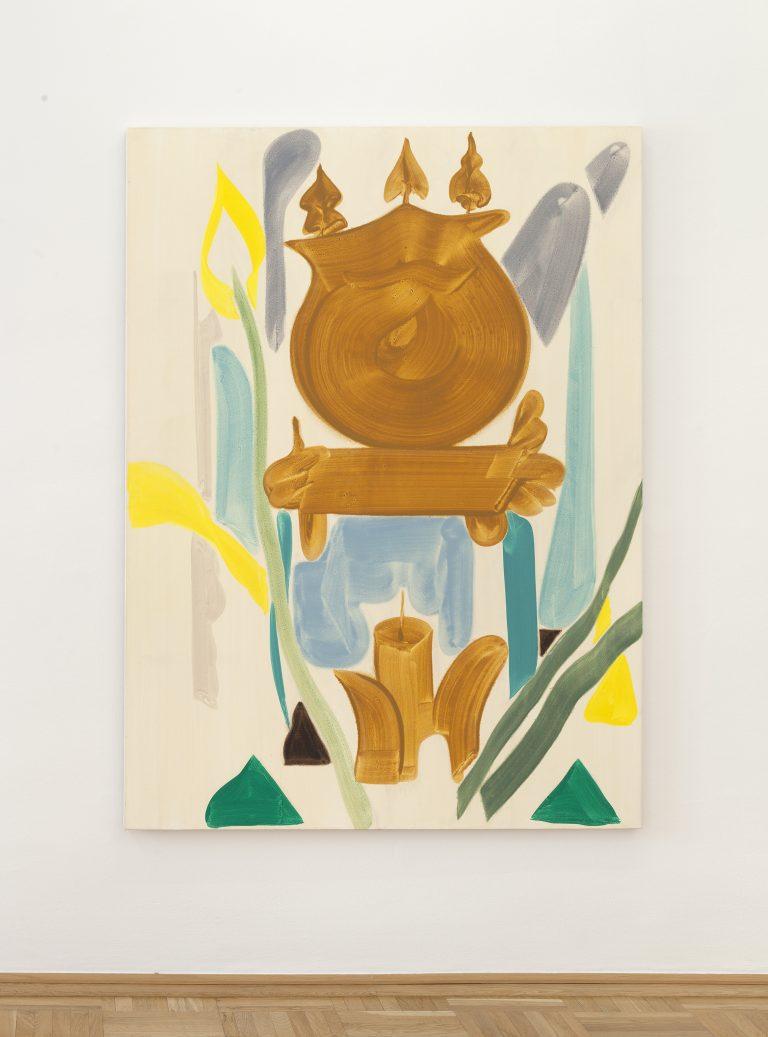 Patricia Treib,  Teal Clock,  2016.